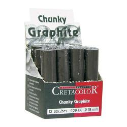 Cretacolor - Chunky Graphite - Bâton Graphite