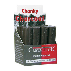 Cretacolor - Chunky Charcoal - Gros Fusain Compressé