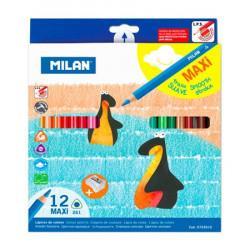 MILAN - Boîte de 12 Crayons...