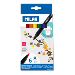 MILAN - Boîte de 6 Feutres...