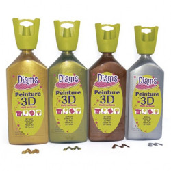 DIAM'S 3D - Peinture Acrylique 3D - 37ml
