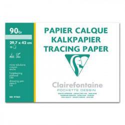 Clairefontaine - Papier Calque Supérieur - Format A3 - 10 Feuilles - 90 g/m²