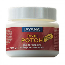 C.KREUL - JAVANA - Textil Potch - Colle pour Technique des Serviettes en Papier - 150ml