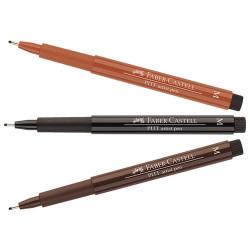 Faber-Castell - PITT® Artist Pen - Feutre à l'Encre de Chine pour Artistes - Pointe Moyenne (M)