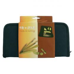 TRI STAR - Trousse d'Outils de Modelage - 8 Pièces