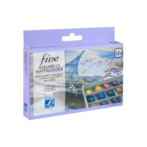 Lefranc Amp Bourgeois Watercolour Fine Plastic Box