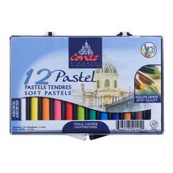 Conté à Paris - 12 Pastels Tendres Assortis - Coffret