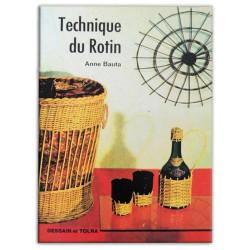 Livre - Technique du Rotin - Anne Bauta