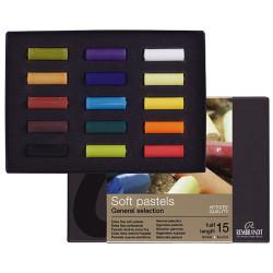Royal Talens - REMBRANDT - Soft Pastels - 15 Demi-Pastels - Pastels Tendres Extra Fins