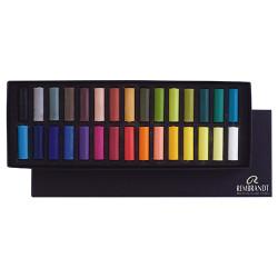 Royal Talens - REMBRANDT - Soft Pastels - 30 Demi-Pastels - Pastels Tendres Extra Fins