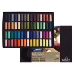 Royal Talens - REMBRANDT - Soft Pastels - 60 Demi-Pastels - Pastels Tendres Extra Fins