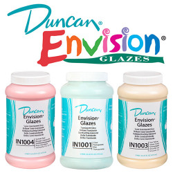 Duncan - IN - Envision® Glazes - Émaux Brillants - 473ml
