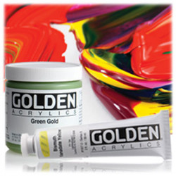 GOLDEN - Heavy Body - Acrylic Paint - Smooth & Buttery - Classic Colors - 2oz (59ml)