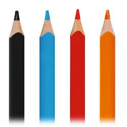 Maped - Crayons de Couleur - Color'Peps Maxi - Boîte de 12