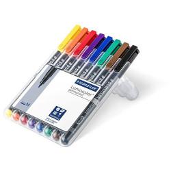 STAEDTLER - Lumocolor® - Feutre Universel Permanent - 317 WP4 - STAEDTLER® Box