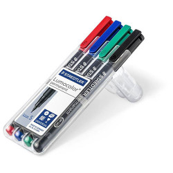 STAEDTLER - Lumocolor® - Feutre Universel Permanent S - 313 WP4 - STAEDTLER® Box