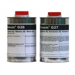 """Esprit Composite - Résine """"G26-G27"""" - Résine Polyuréthane - Jeu de 2kg"""