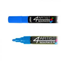 Pébéo - 4ARTIST MARKER - Marqueur Peinture à l'Huile - 4mm - 18 Couleurs
