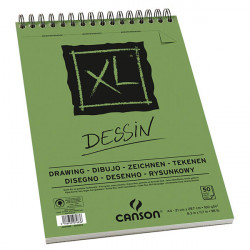 CANSON BLOC DESSIN XL VERT 50F A4