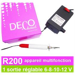 SCRAPYRO (REGAD) - Appareil Multifonction R200 - 8 Fonctions Avec 1 Seul Appareil