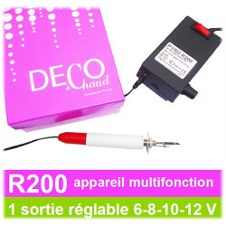 SCRAPYRO (REGAD) - Multifunction Device R200 - 8 Functions With Only 1 Device