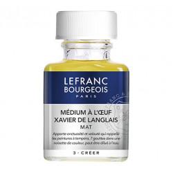 Lefranc & Bourgeois - Additif Huile - Médium à l'Oeuf - XAVIER DE LANGLAIS - Mat - 75ml