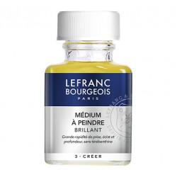 Lefranc & Bourgeois - Additif Huile - Médium à Peindre - Brillant - 75ml
