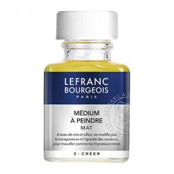 Lefranc & Bourgeois - Additif Huile - Médium à Peindre - Mat - 75ml