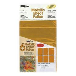 C.KREUL - Metallic Effect Foil Set - 6 Feuilles - A5 - Gold
