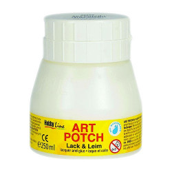 C.KREUL - Vernis-Colle Art Potch - Mat-Satiné - 250ml