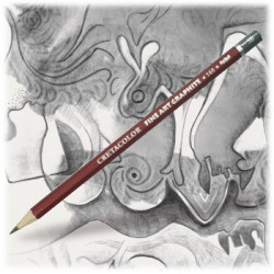 Cretacolor - Cleos Red - Crayon Graphite Beaux-Arts