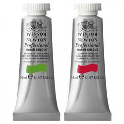 Winsor & Newton - Artists' Water Colour - Finest Aquarelle - 14ml Tubes