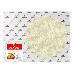 Canson® - Figueras® - Paper for Oil & Acrylic - Canvas Grain - Sheet of 50 x 65 cm - 290 gsm