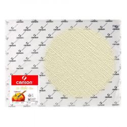 Canson® - Figueras® - Papier pour Huile & Acrylique - Grain Toilé - Feuille de 50 x 65 cm - 290 g/m²
