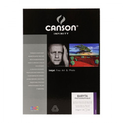 Canson® - Infinity® Baryta Photographique - Satin - 25 Sheets - 310 gsm - A3+ Size