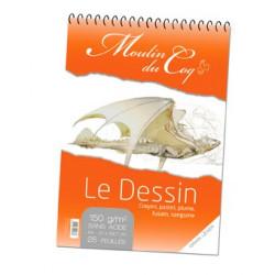 """Moulin du Coq - """"Le Dessin"""" - Papier Esquisse et Dessin - 150 g/m²"""