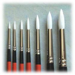NIDART - Pinceau Color Field - Soie de Porc - Rond - Huile & Acrylique