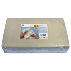 SIO-2 - Argile PLUS - Pâte Autodurcissante - 10kg - Blanc