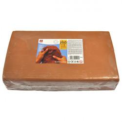 SIO-2 - Argile PLUS - Pâte Autodurcissante - 10kg - Terracotta