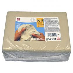 SIO-2 - Argile PLUS - Pâte Autodurcissante - 5kg - Blanc