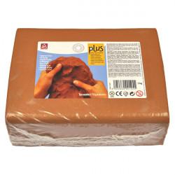 SIO-2 - Argile PLUS - Pâte Autodurcissante - 5kg - Terracotta