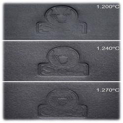SIO-2 - Porcelaine Noire - 1200-1240°C - BLACK ICE - 5Kg
