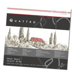 Hahnemühle - Quattro - Papier Esquisse et Dessin - 170 g/m²