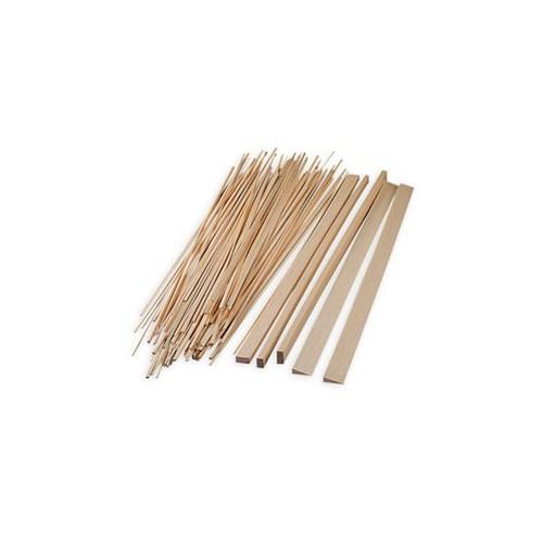 Creat 39 airplac balsa bois baguettes carr es rectangulaires rondes - Baguette bois ronde ...