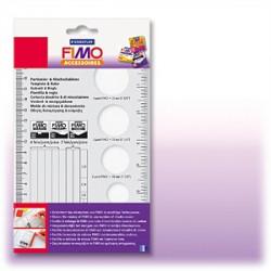 STAEDTLER - Accessoire FIMO® - Gabarit & Règle - 20cm
