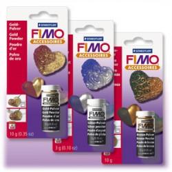 STAEDTLER - Accessoire FIMO® - Poudre Métallique - Argent, Or & Bronze