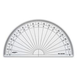 GRAPHOPLEX - Rapporteurs Demi Cercle - En Degrés - 16cm