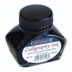 Cretacolor - Calligraphy Ink - Encre Calligraphie - Noir - 30ml