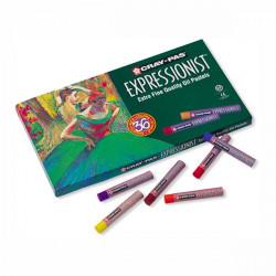 SAKURA - CRAY-PAS - EXPRESSIONIST - Pastels à l'Huile - Boîte de 36 Pastels à l'Huile