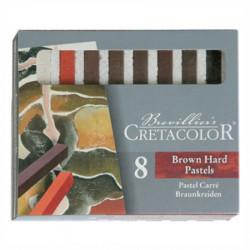 Cretacolor - Craies Pastel Brunes - 8 Pièces